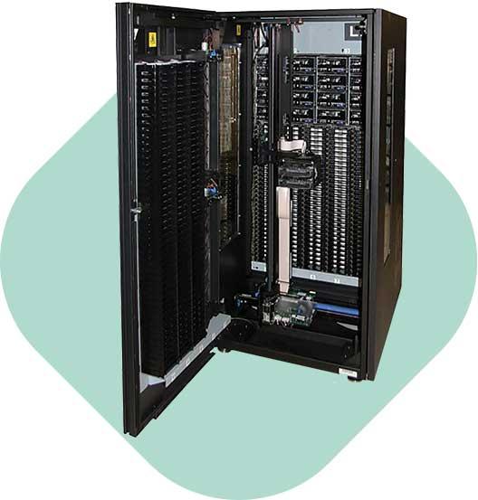 Datensicherung und Archivierung HIGH END IBM TAPE LIBRARIES