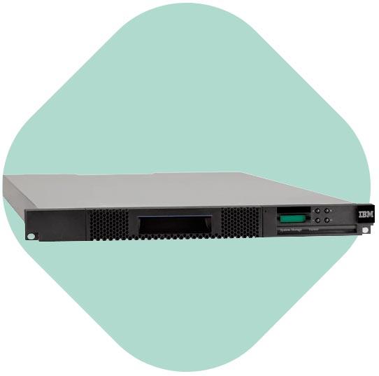 Datensicherung und Archivierung ENTRY IBM TAPE LIBRARIES tape autoloader