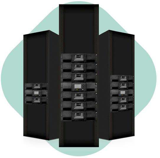 Datensicherung und Archivierung MIDRANGE IBM TAPE LIBRARIES ts4300