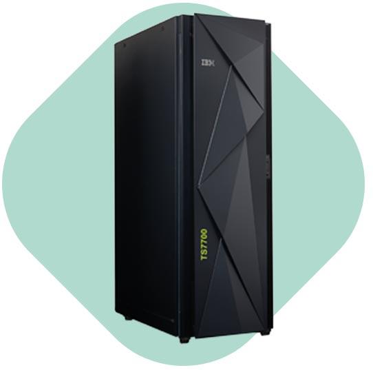 Datensicherung und Archivierung IBM VIRTUELLE TAPE LIBARIES ts7700